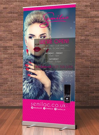 Roller Banners Trade Advertising